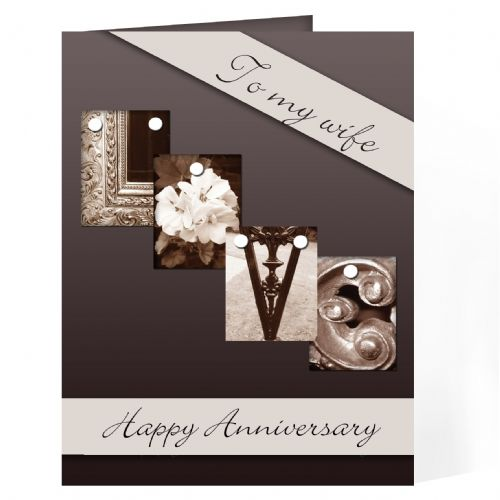 Personalised Affection Art Love Card